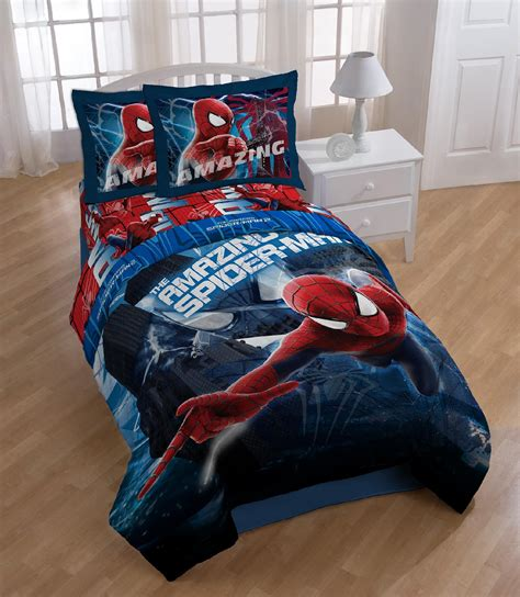 spiderman twin comforter marvel spiderman twin full comforter