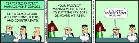 Dilbert zombies and project managers