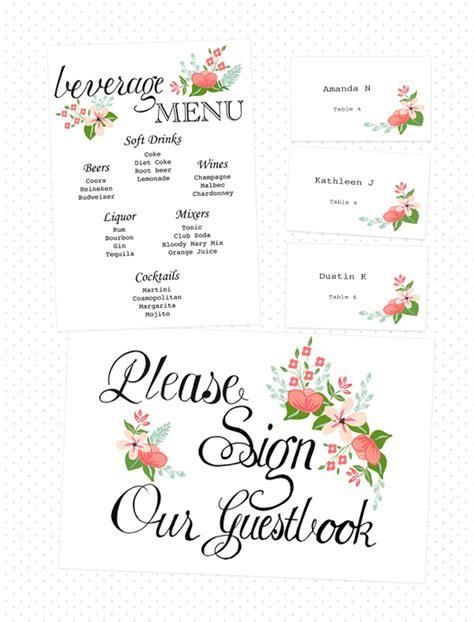 diy wedding printables free imprimible numeros de mesa y tarjetas para el seating