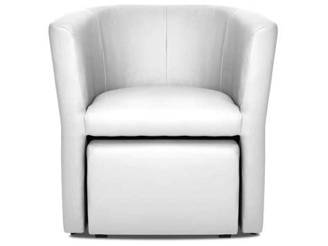 fauteuil cabriolet pouf manon coloris blanc vente de