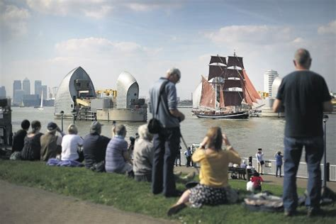 thames barrier september focus on woolwich crossrail a huge regeneration project
