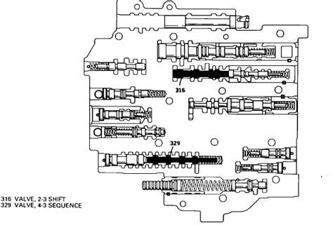 700r4 valve diagram a340 valve diagram a340 free engine image for user