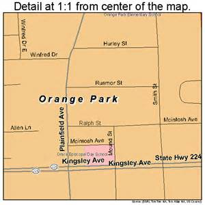 map of orange park florida orange park florida map 1252125
