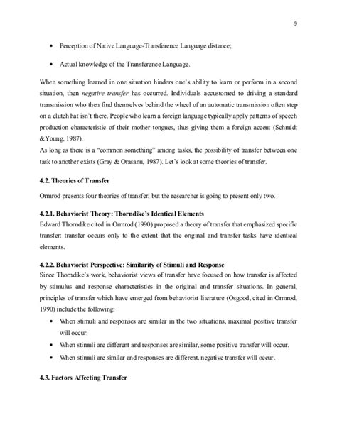 tongue research paper a research paper on language acquisition in the