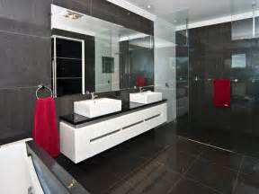 modern bathrooms ideas modern bathroom design with built in shelving using