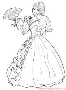 print princess free printable coloring barbie princess colouring pages 2 free