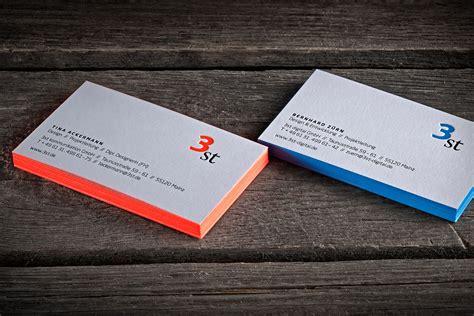 Visitenkarten Letterpress by Farbschnitt Visitenkarten 3st Letterjazz Print Studio
