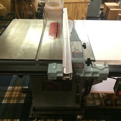 Delta 10 Amp Unisaw Table Saw 3hp Single Phase 50 Quot Unifence