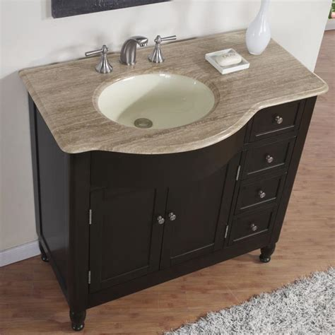 Bathroom Sink With Cabinet 38 Perfecta Pa 5312 Bathroom Vanity Single Sink Cabinet Walnut Finish Bathroom