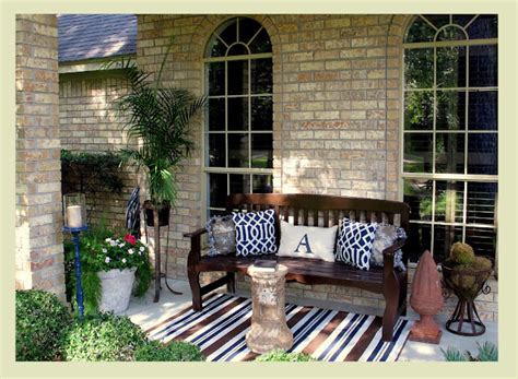 Outdoor Decorating Ideas Front Porch outdoor decor 14 casual comfy front porch ideas huffpost