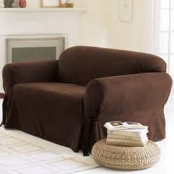 Walmart Loveseat Covers Sure Fit Soft Suede Sofa Cover Walmart