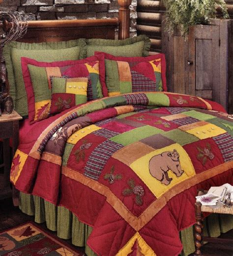 schemel notarin rustic quilts tea cabin rustic quilt by vhc brands