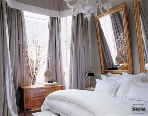 gray curtains for bedroom gray bedroom french bedroom elle decor