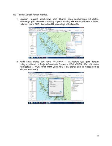 cara membuat layout di arcgis 10 1 tutorial membuat peta sebaran gempa menggunakan arcgis
