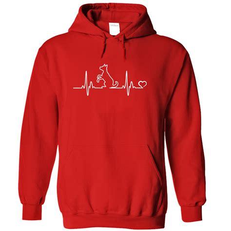 Jaket Sweater Hoodie Zipper Dogs 2 Rightcollection heartbeat hoodie iheartdogs