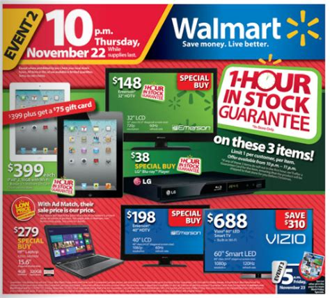 black friday prices at walmart walmart black friday layaway and price matching update