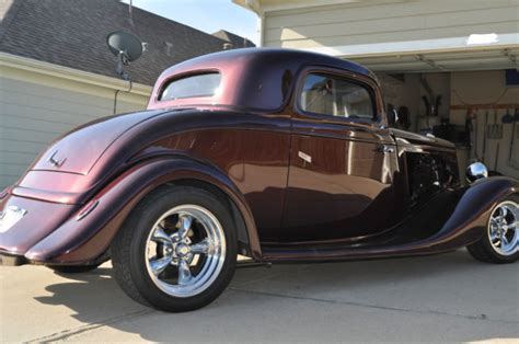 34 Ford Coupe by 34 Ford 3 Window Coupe Streetrod For Sale Photos