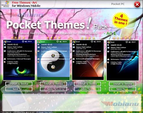 pc themes pack free download download mobiano free pocket pc themes art pack from