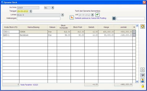 desain database inventory program inventory gudang sederhana search jobsila com
