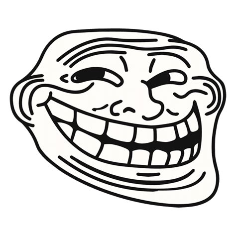 Troll Faces Meme - troll face png no background www pixshark com images