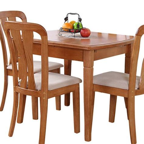 Buy G P Furniture Lincoln Extending Dining Table Maple Tesco Dining Table And Chairs