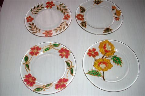fiori da dipingere decorare e dipingere piatti