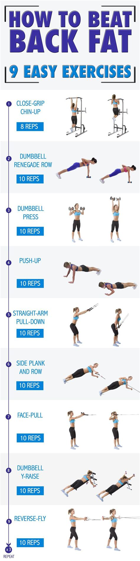 Easy underarm workout for women