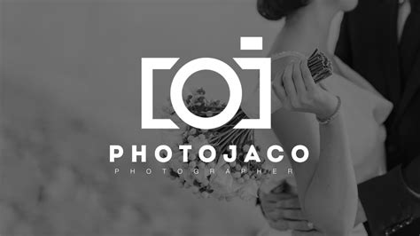 How To Design A Photography Logo In Photoshop Youtube Free Photography Logo Templates For Photoshop