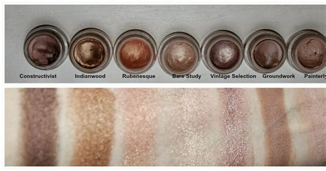 beautiful me plus you mac paint pots review and swatches