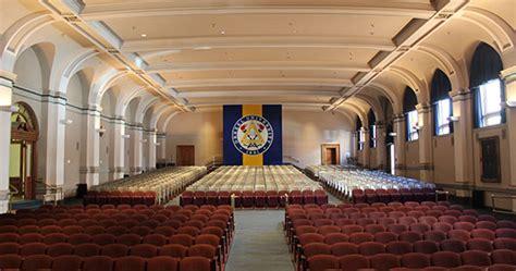 main building auditorium performing arts drexel university
