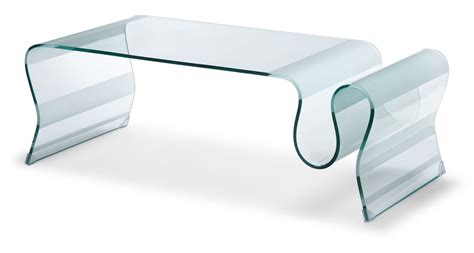 zuo modern discovery coffee table clear glass by oj