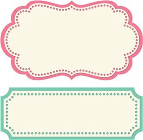 label design templates vector 2 formas de etiquetas silouette portrair pinterest