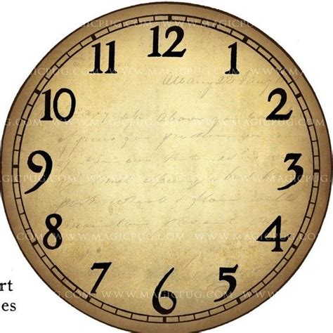 printable antique clock faces clock face template clocks clock faces clock face