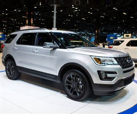 ford explorer 2018 ford explorer release date redesign