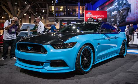 Ford Mustangs Ford And Petty S Garage Team Up To Offer 627 Hp Mustang
