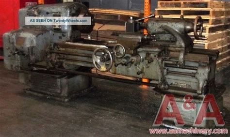 American Pacemaker 16x60 Geared Head Engine Lathe 20378