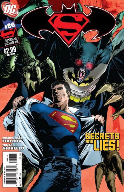 Tenda Terowongan Superman Batman 1 superman batman 86 the secret part 2 of 3 issue