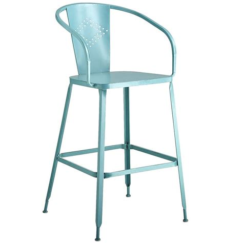 Teal Counter Stool by Weldon Barstool Teal For The Home Pier 1 Imports Bar And Stools