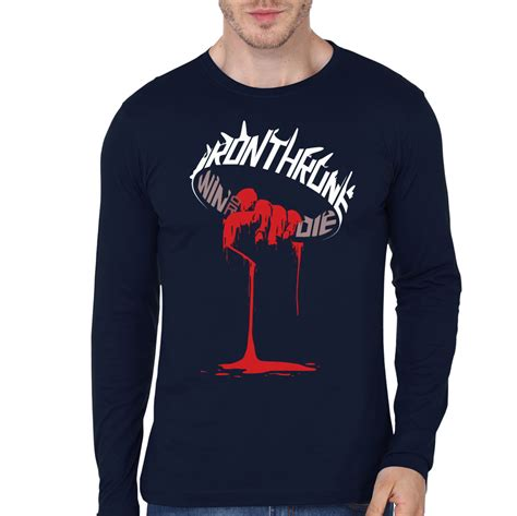 Hoodie Of Throne The Remember Navy iron throne navy blue sleeve swag shirts