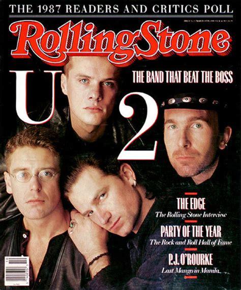 Bono Magazine Cover 2 u2 covers 521 03 20 1988 u2 the rolling covers