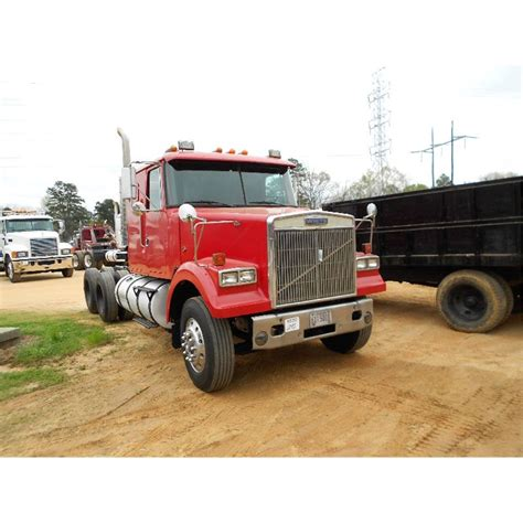 volvo truck company 1987 volvo white t a truck tractor j m wood auction