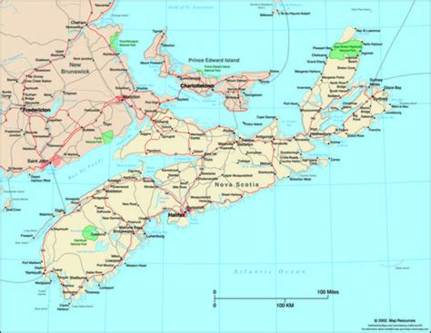 map of scotia scotia canada political wall map maps