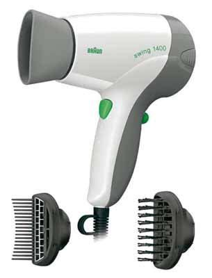 Braun Hair Dryer Swing 1400 braun swing bc 1400s2 productfrom