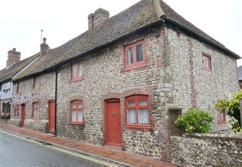 Flint Cottage Alfriston by Local Distinctiveness Building In South Downs National Park Authority
