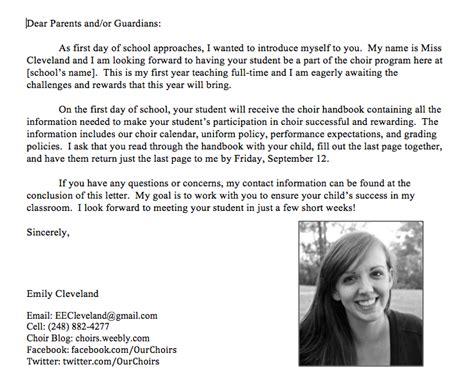 Parent Letter Classroom Management Plan Appendix B Letter To Parents Classroom Management Portfolio