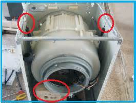 bongkar drum mesin cuci front loading elektro tehnik