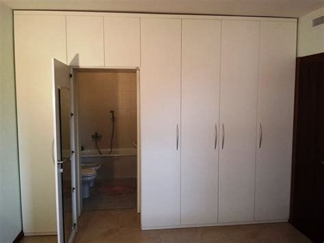 progetto armadio a muro armadio a muro in legno architettura a domicilio 174