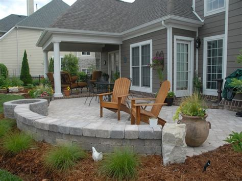 Patio Pavers Designs Paver Patio Designs Backyard Patio Patio Designs Photos
