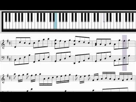 tutorial piano canon learn pachelbel s canon in d major for piano tutorial