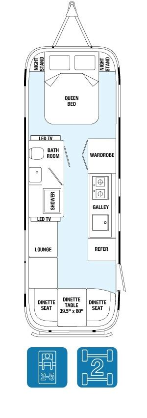 Floor Plan For Hair Salon by Land Yacht Travel Trailer Floor Plans Airstream